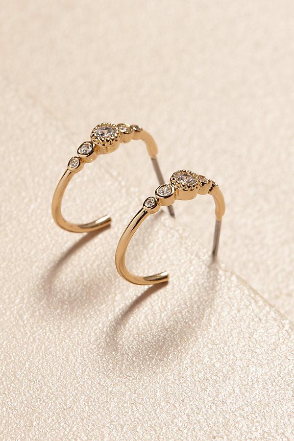 Stella Hoop Earrings - Gold