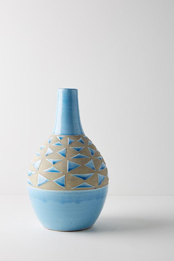 Soleil Vase - Blue, Size L
