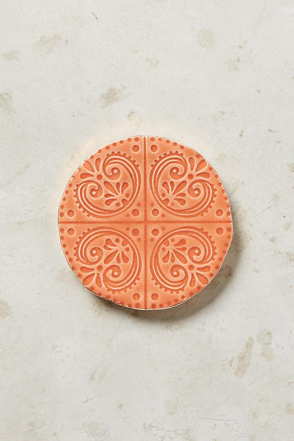 Murano Coaster - Pink, Size Coasters