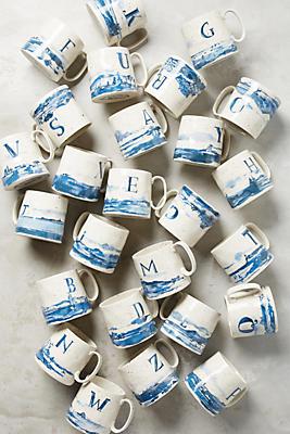 Slide View: 2: Buoyant Letters Mug