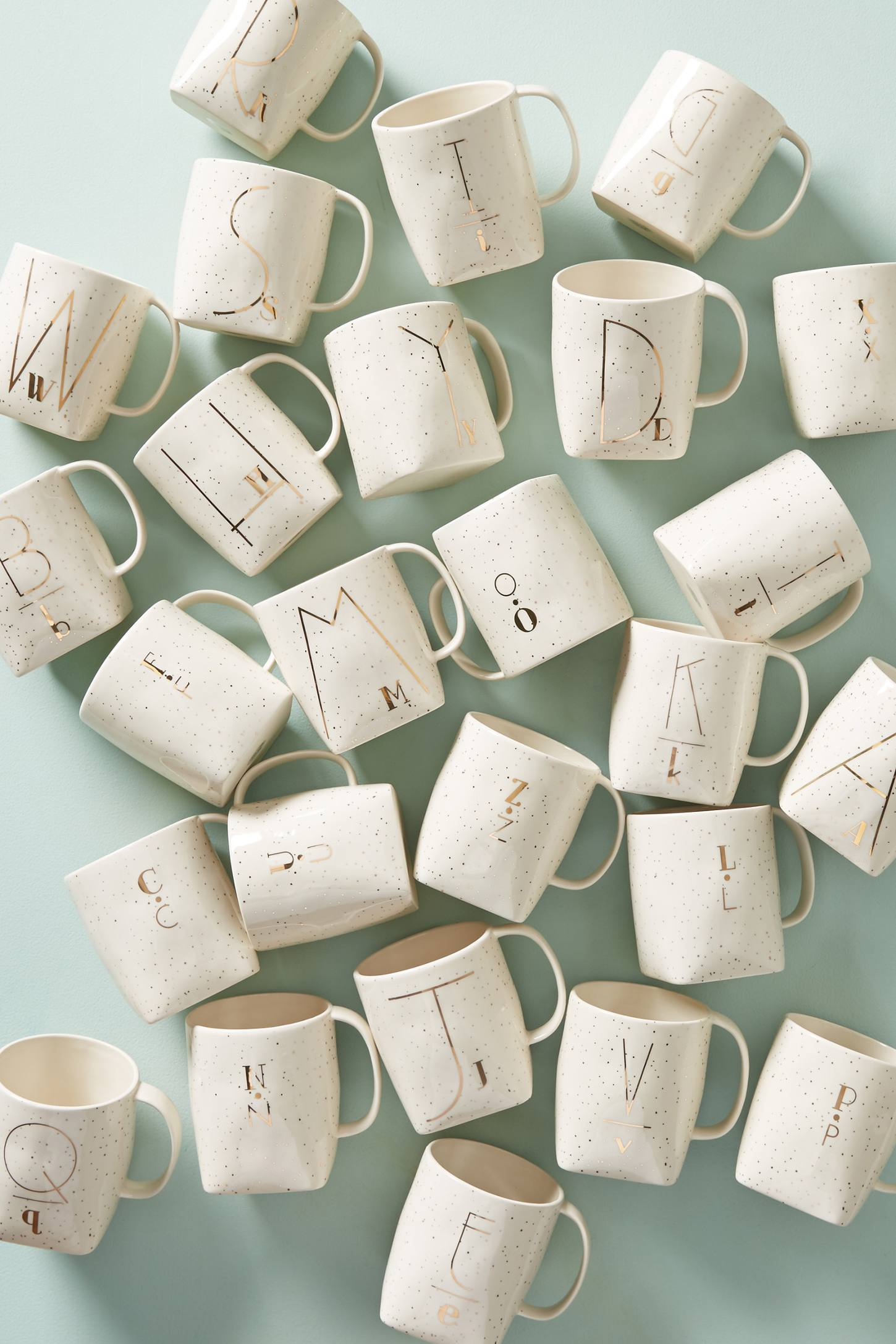 Slide View: 2: Double Monogram Mug