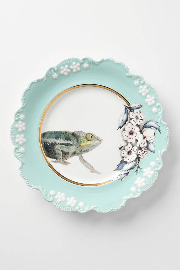 Natural World Dessert Plates - Turquoise, Size Salad