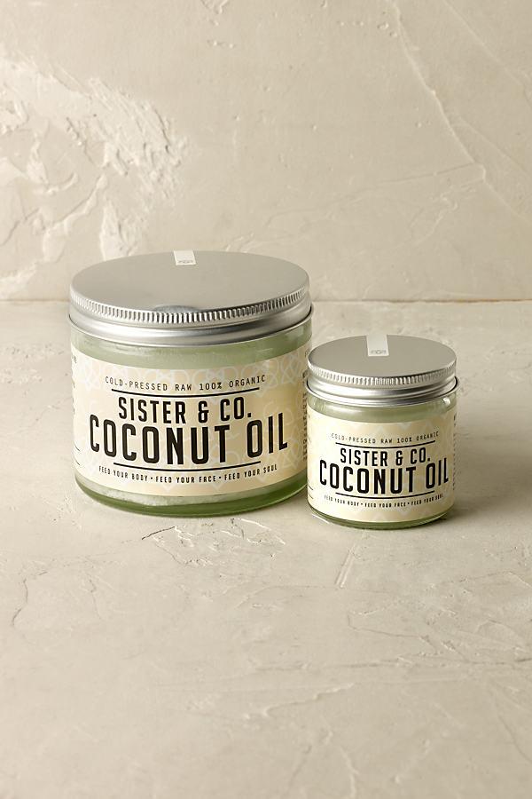 Sister & Co Coconut Oil - White
