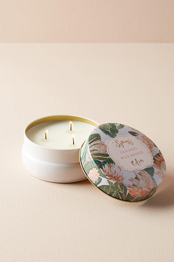 Spring's Eden Candle - Purple