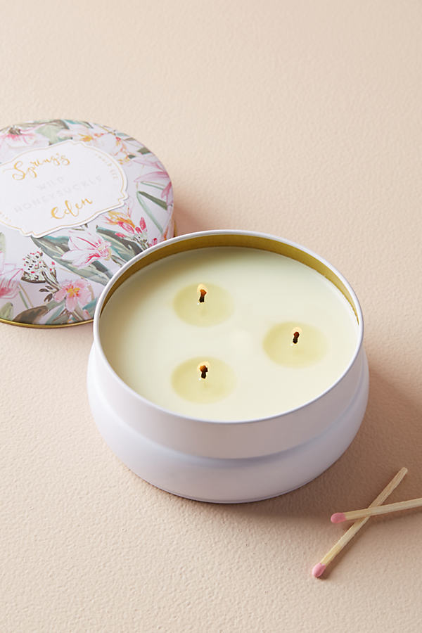 Spring's Eden Candle - Pink