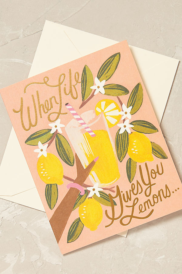 Rifle Paper Co. Card - Pink