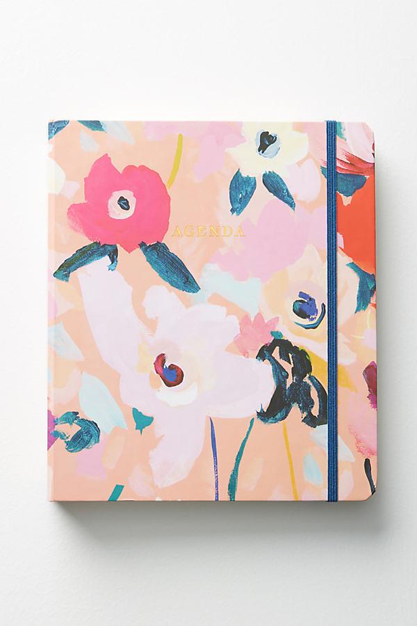 Picturesque Florals 2018 Planner - Tangerine