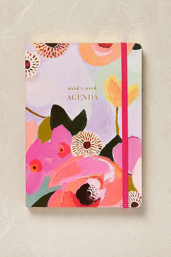 Painted Petals Weekly Agenda - Lavender