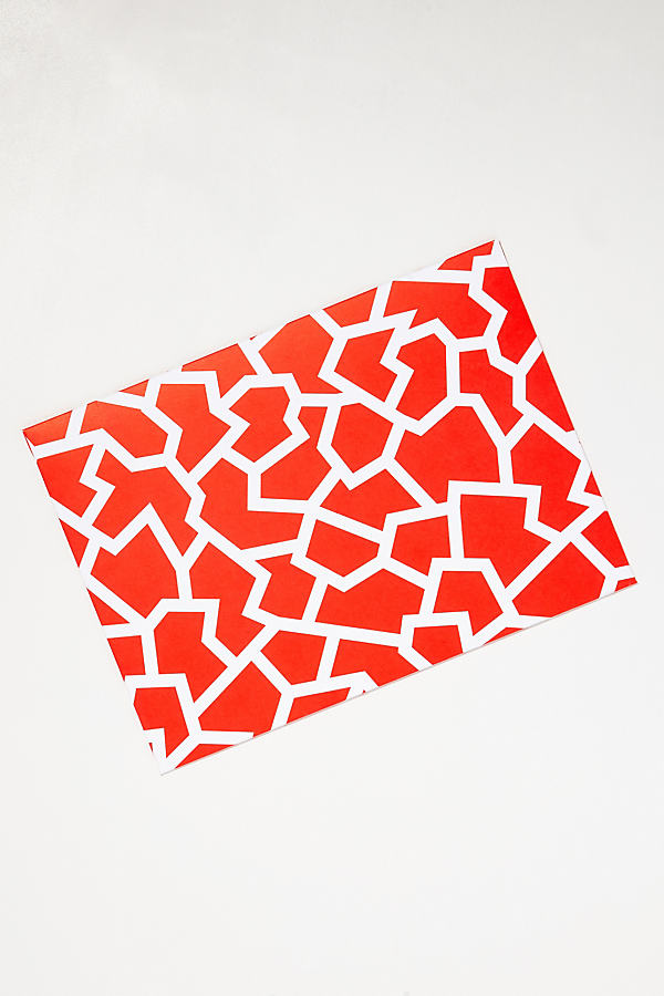 Bindy A4 Folder - Bright Red