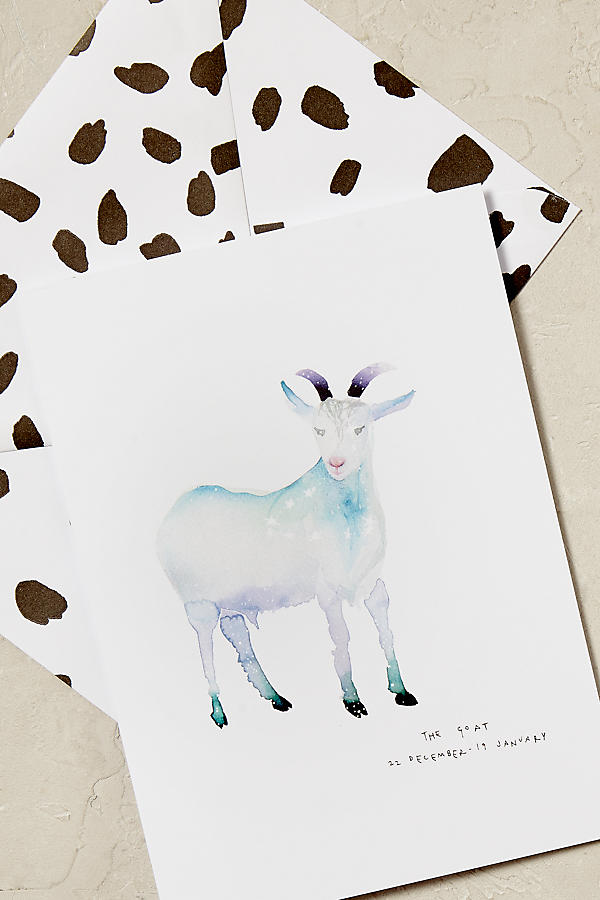 Slide View: 3: Zodiac Greeting Cards