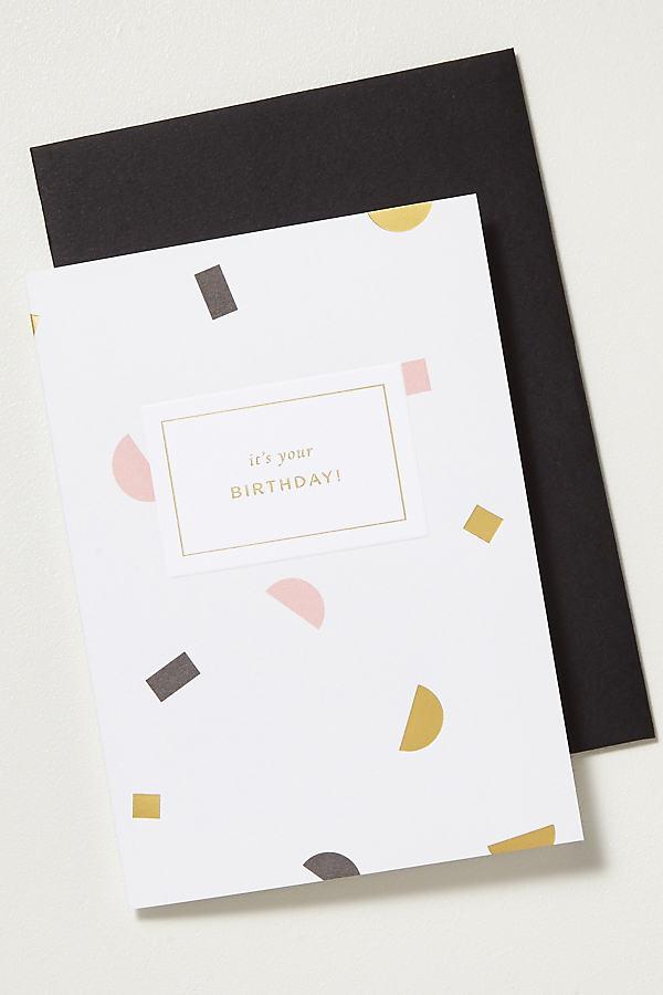 A L'Aise Birthday Card - Pink