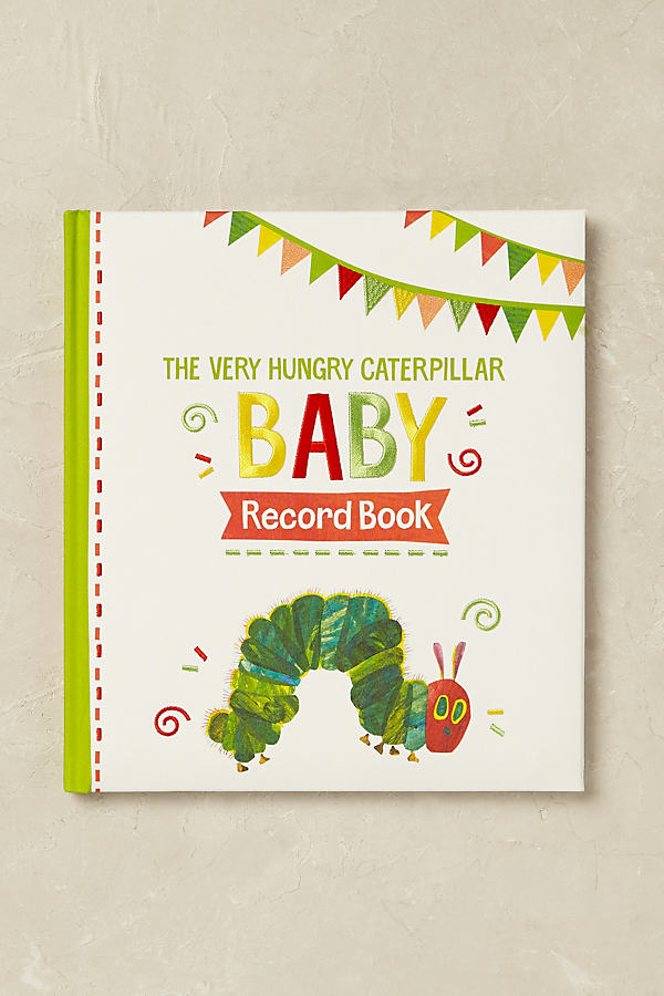 The Very Hungry Caterpillar: Baby Record Book - A/s