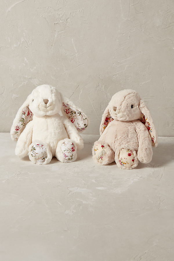 Bunny Soft Toy - White