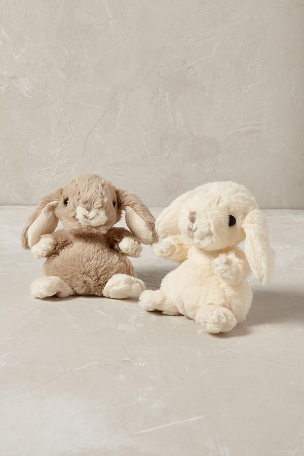 Baby Bunny Soft Toy - White