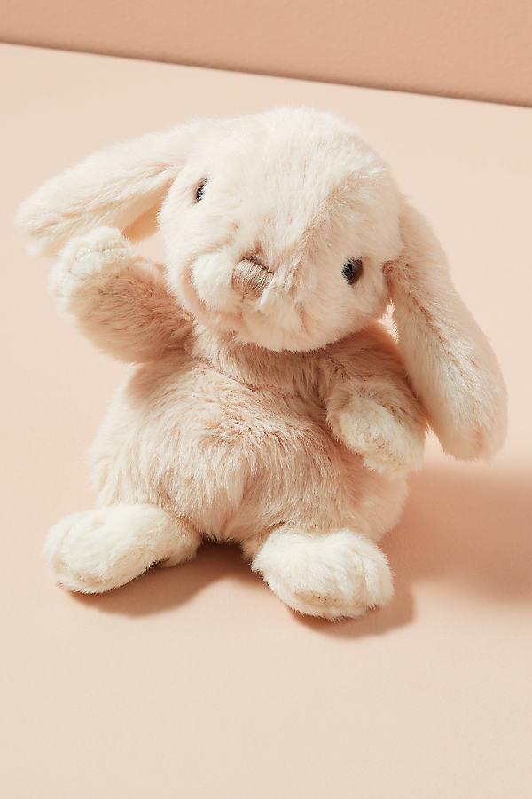 Baby Bunny Soft Toy - Pink