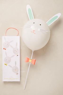 Slide View: 1: Kit de ballons lapin de Pâques