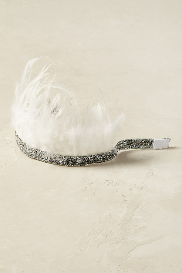 Feather Party Crown - Silver