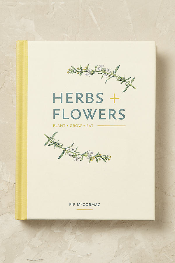 Herbs and Flowers - Ivory
