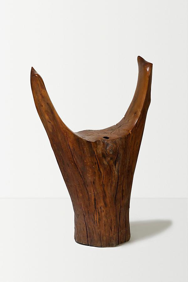 Wood Tub Chair - Brown