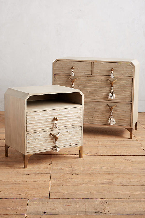 Slide View: 3: Zagora Tasselled Nightstand