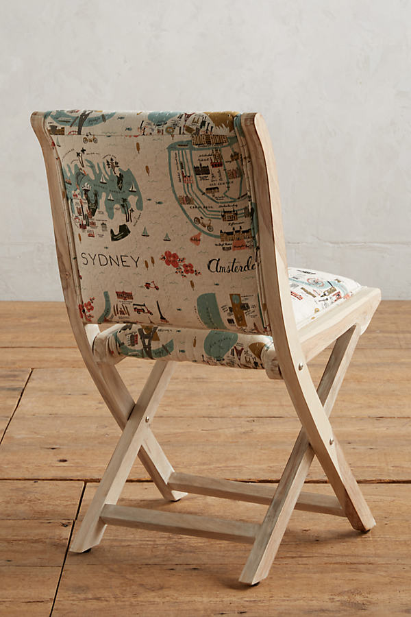 Rifle Paper Co. Terai Chair - Neutral Motif