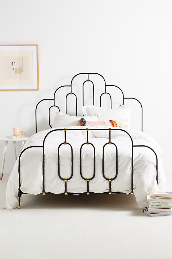 Deco Bed - Light Grey