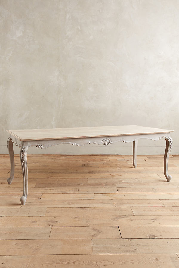 Cabriole Dining Table - Grey