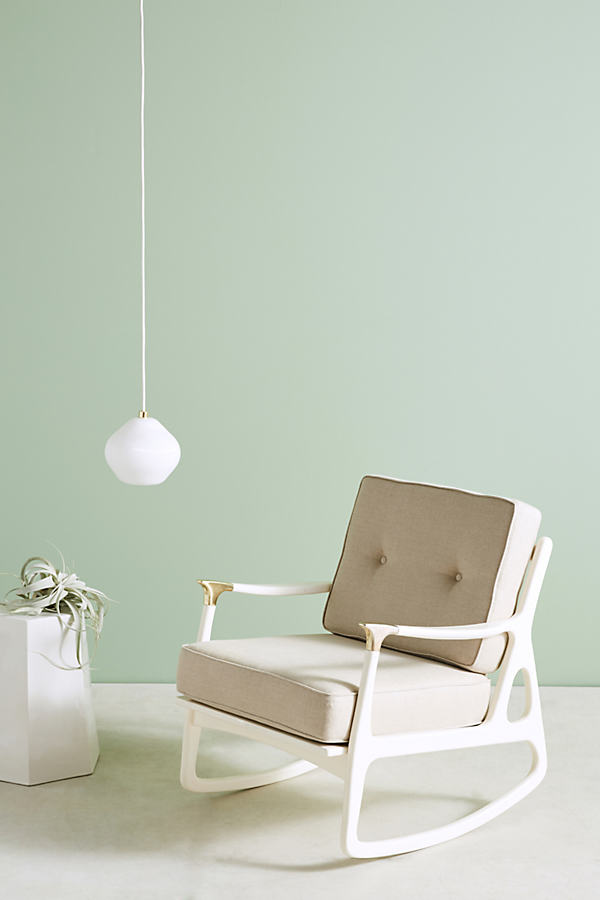 Lacquered Haverhill Rocking Chair - Cream