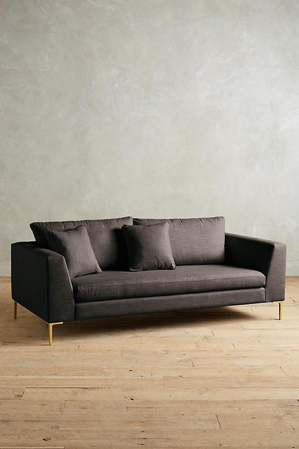 Linen Edlyn Sofa - Grey