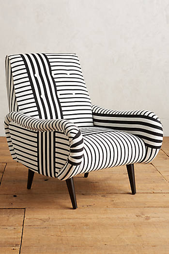 Striped Losange Chair