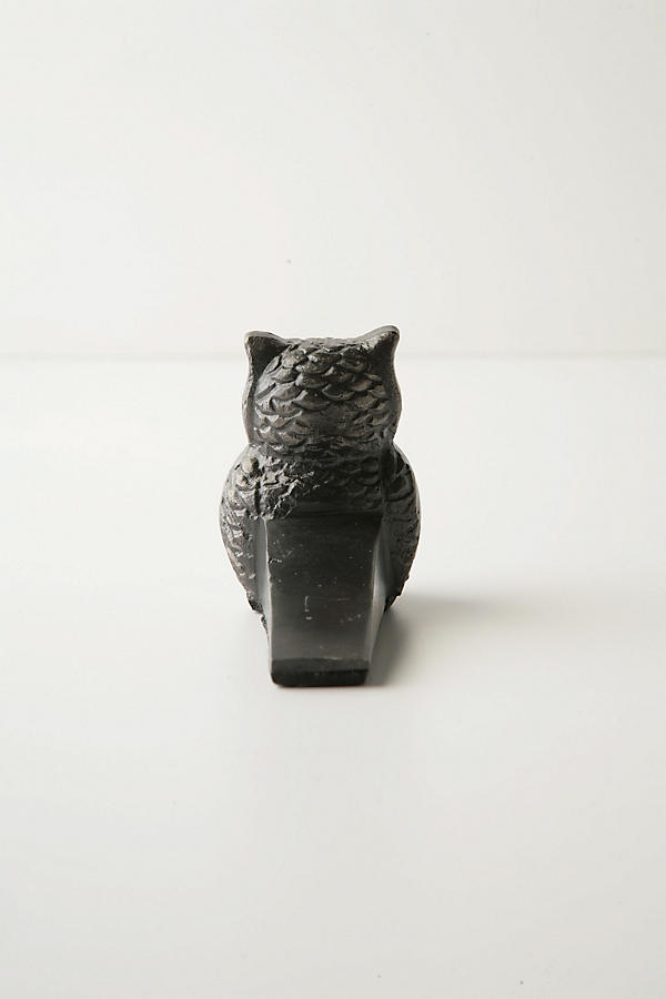 Slide View: 2: Owl Doorstop