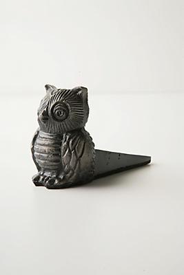 Slide View: 1: Owl Doorstop