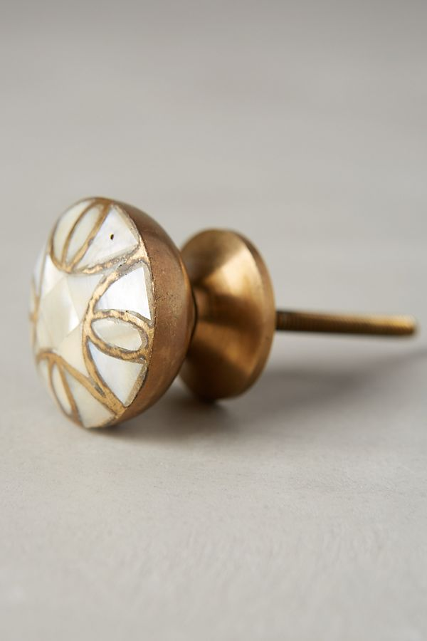 Mother-Of-Pearl Knob | Anthropologie