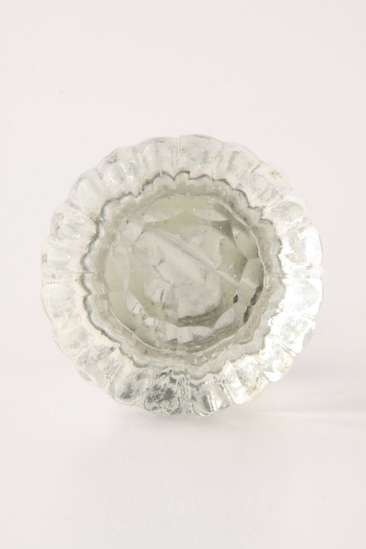 Notched Glass Knob