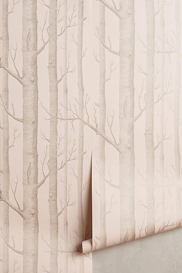 Woods Wallpaper - Pink