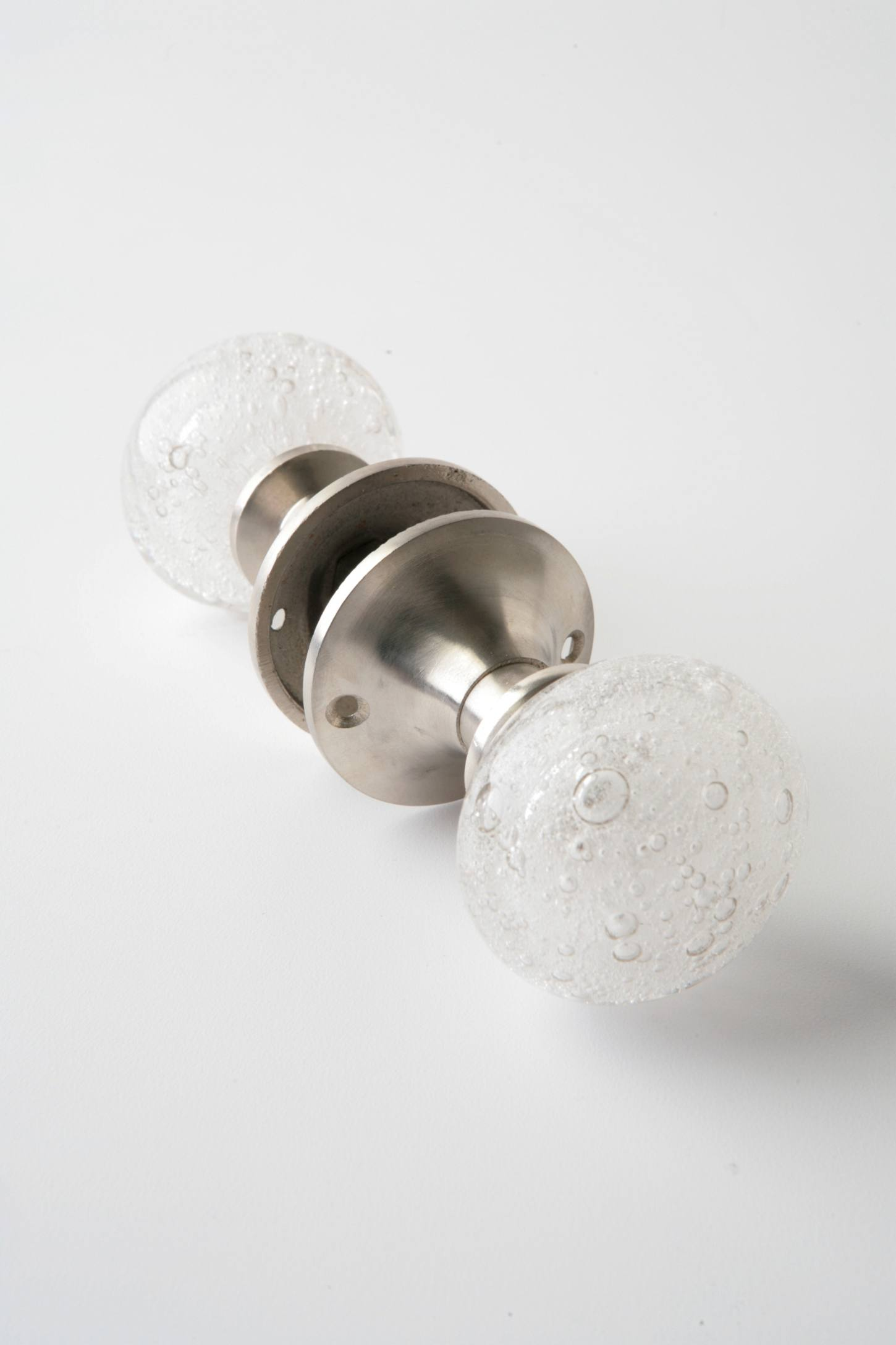 Slide View: 1: Glass Bubble Doorknob