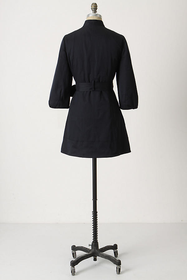 Slide View: 2: Double Ruffle Trench