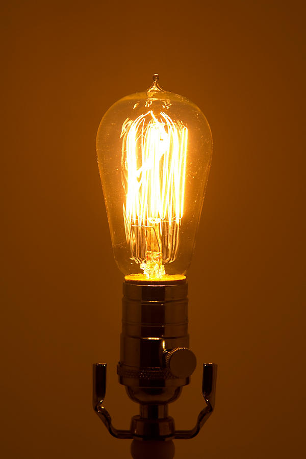 Slide View: 2: Slim Edison Bulb