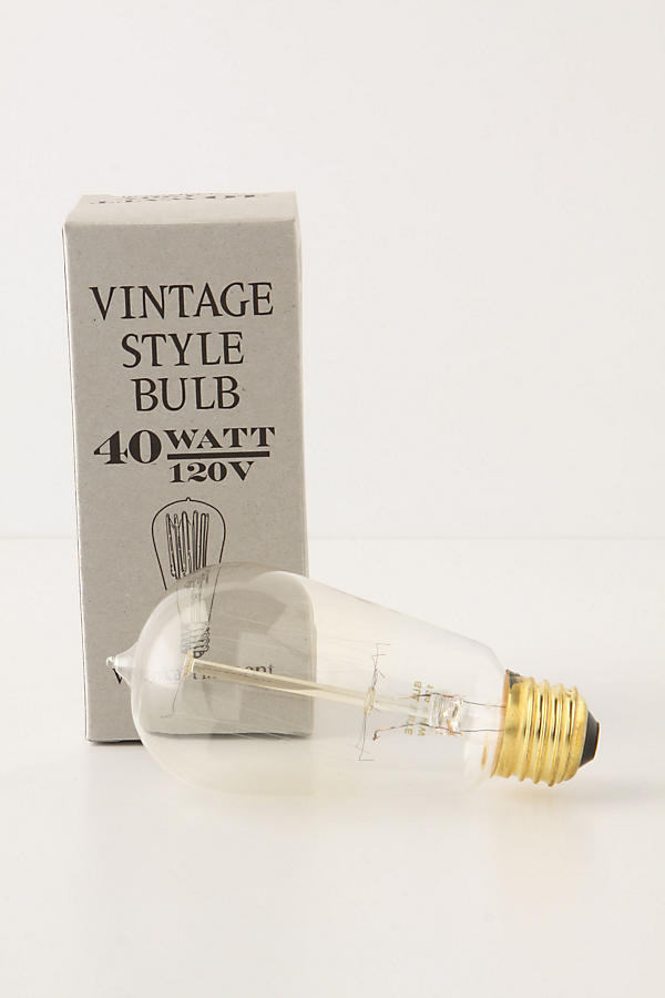 Slide View: 4: Slim Edison Bulb