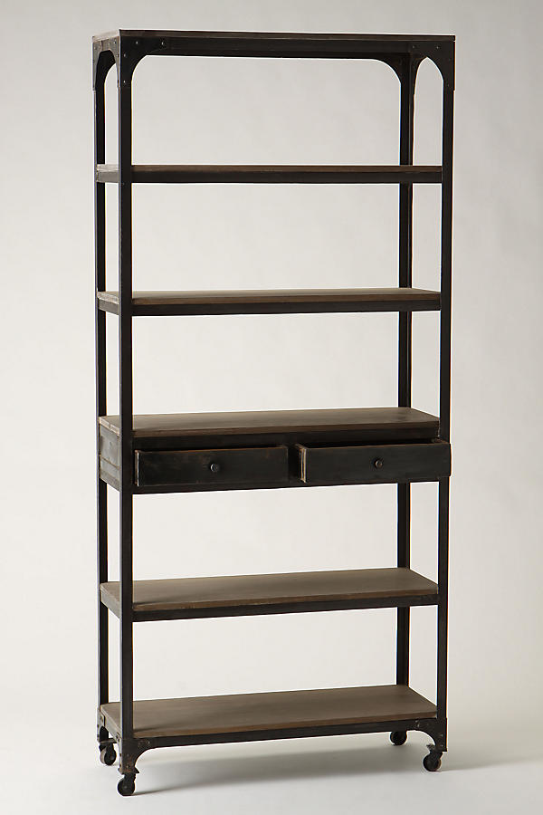 Decker Five-Shelf Bookshelf