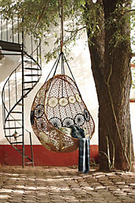 Slide View 5 Knotted Melati Hanging Chair