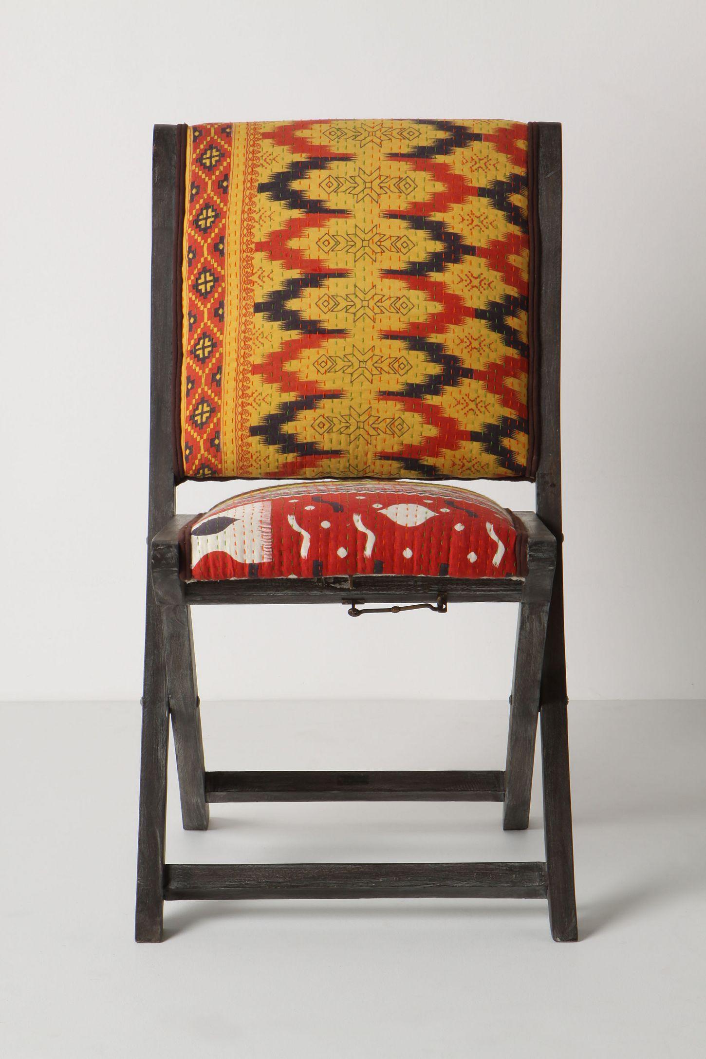 Terai Folding Chair Ikat