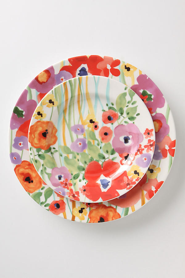 Slide View: 1: Verdant Acres Dinner Plate