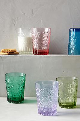 Slide View: 3: Fleur-De-Lys Juice Glass