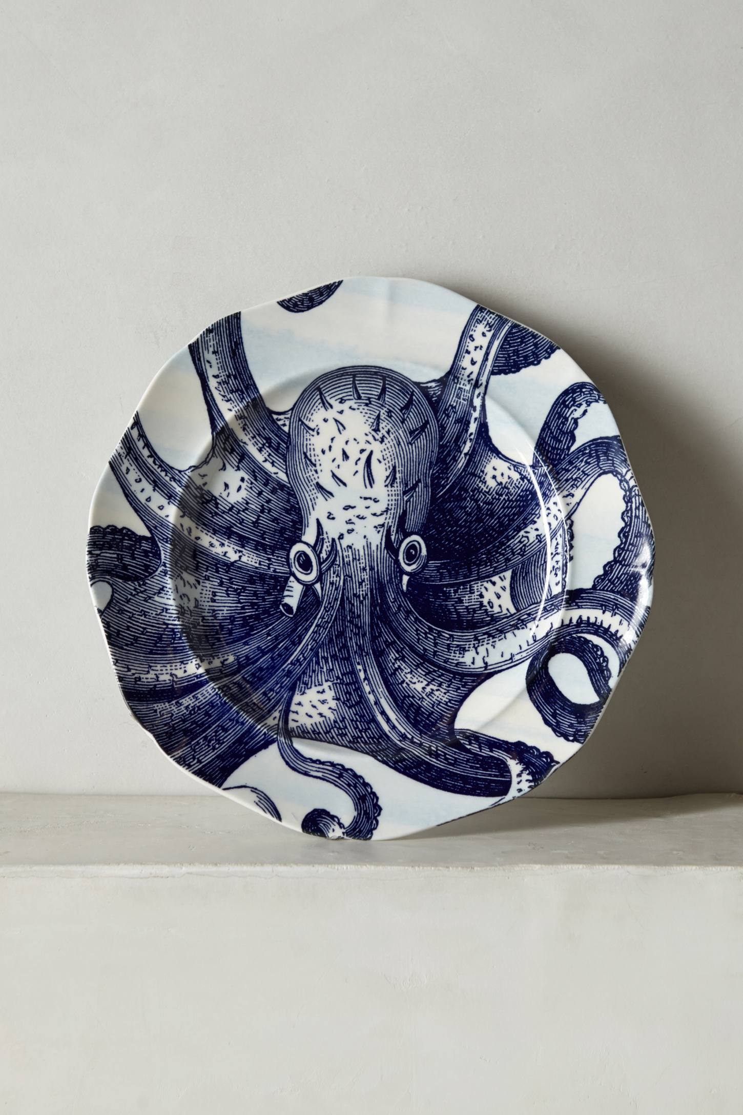Slide View: 1: From The Deep Side Plate, Octopus
