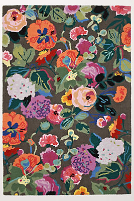 gloria's garden rug | anthropologie