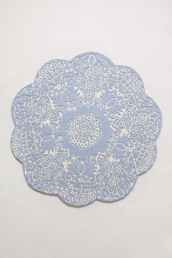 Doily Rug Anthropologie