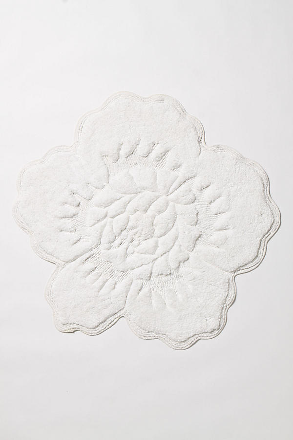 Slide View: 1: Castile Rose Bath Mat