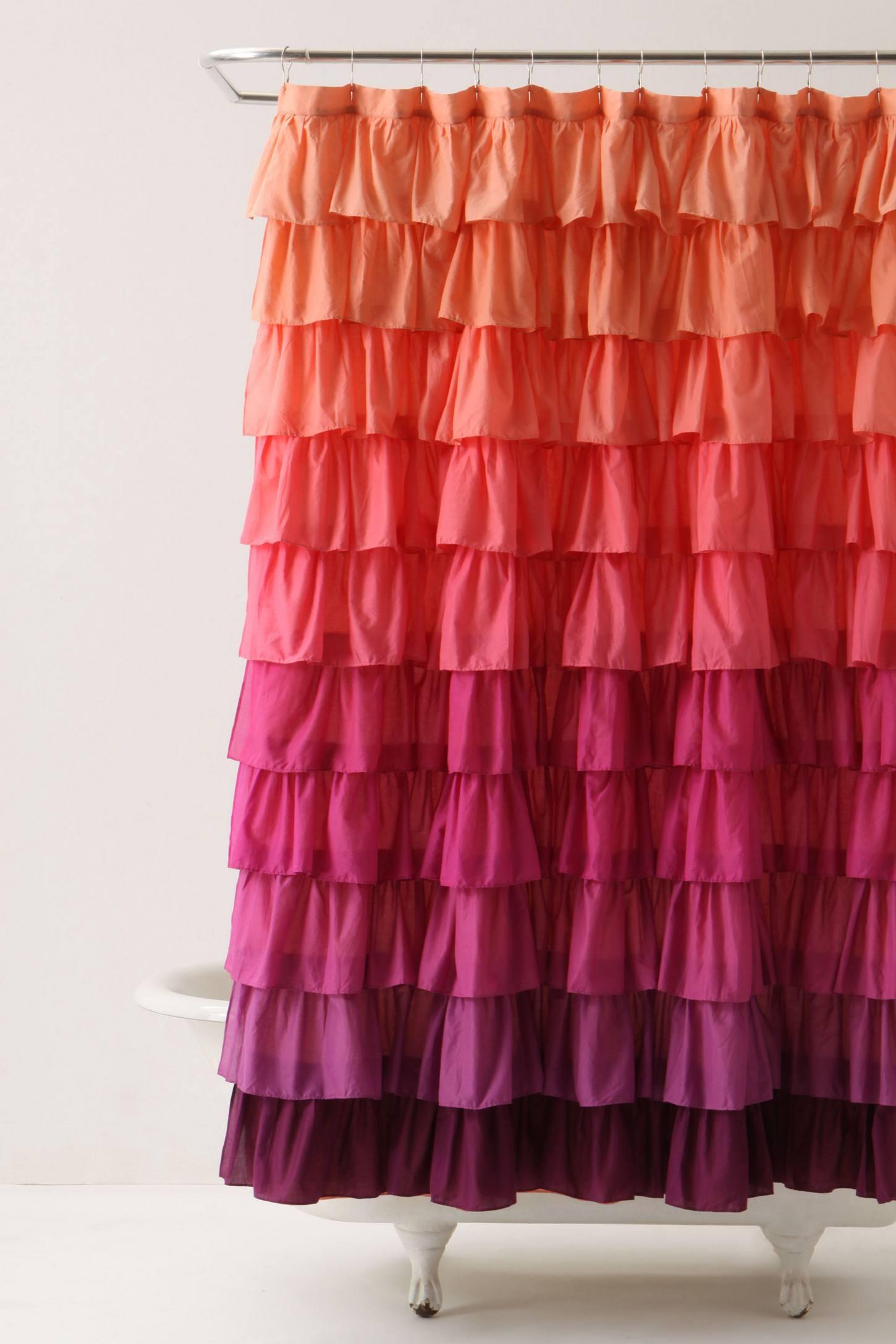 Diy ruffled shower curtain - Diy Ruffled Shower Curtain 52
