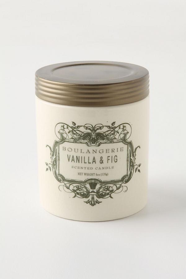 Boulangerie Candle Jar - Green